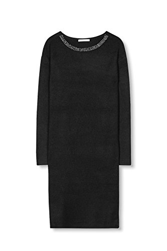 Kleid Schwarz 001 Damen by ESPRIT edc Black vxwSOBgq