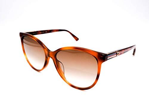 Authentic GUCCI Tortoise Cat Eye Sunglasses GG0377SK - 004NEW (Gucci Brille Frames Für Frauen)