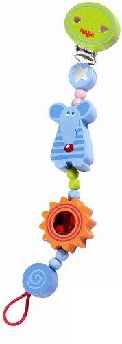 HABA Lollipop Mouse Pacifier Chain