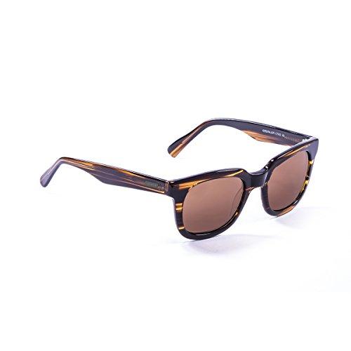 33df7a36964797 Lenoir Eyewear LE610003 Lunette de Soleil Mixte Adulte Marron ...