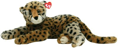 Amazon Com Ty Stuffed Animal Classics 21 Diesel Cheetah Cat