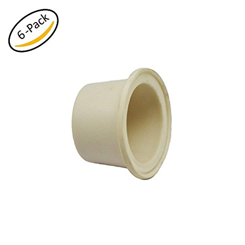 Krome Dispense Large Drilled Rubber Stopper, Carboy Bung (Pack of 6Pcs) - C6508x6 by Krome Dispense
