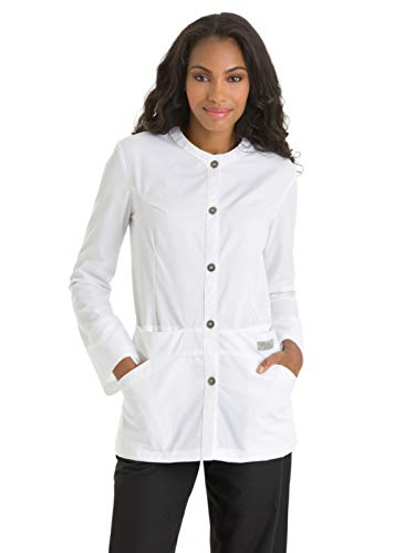 Urbane 'Lab Jacket' Lab Coat White - Lab Urbane