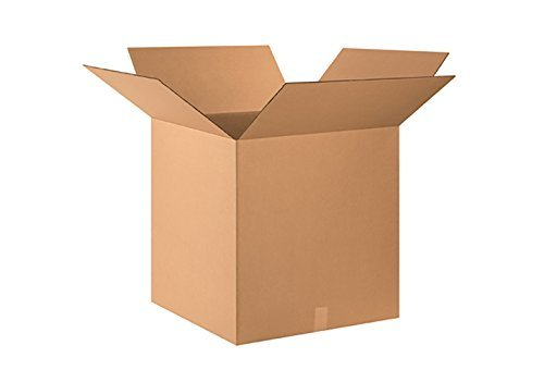 RetailSource B140607HM20 Hazmat Box, 7.875'' Height, 6.875'' Width, 14.125'' Length, Brown (Pack of 20) by RetailSource (Image #1)