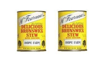 - Mrs Fearnow's Delicious Brunswick Stew with Chicken - 20 oz (2 Cans)
