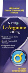 Natrol L-Arginine 90 Comprimés