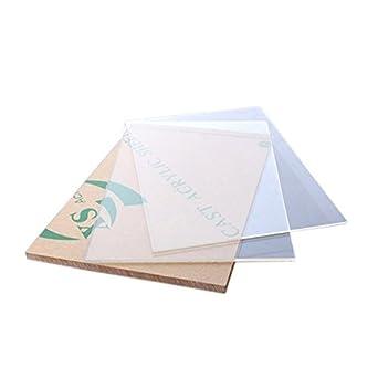 Amazon com: Cast Acrylic Sheet 0 125-Inchx12-Inchx24-Inch