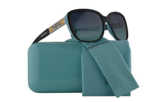 Tiffany & Co. TF4120B Sunglasses Black Blue w/Blue Gradient Lens 57mm 80559S TF4120-B Tiffany&Co. TF 4120B TF - Ophthalmic Tiffany Frames
