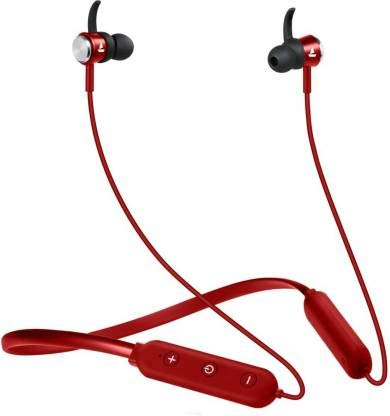 boAt Rockerz 275v2 Wireless Bluetooth Headset with Mic  Red