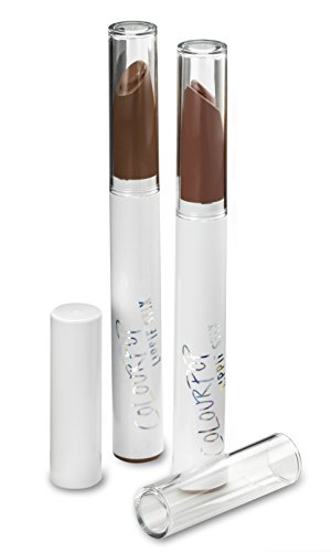 byAlegory Clear Lipstick Caps For COLOURPOP - LIPPIE STIX - Replaces Original Cap To See Your Favorite Lipstick Color Easily (12 Pack)