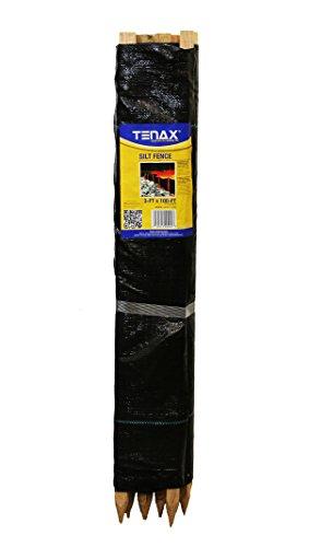 Silt Fence (Tenax Silt Fence, 3 by 100-Feet)