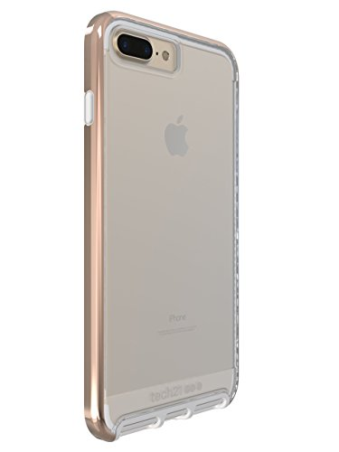 new product de540 f8d73 Tech21 Evo Elite for iPhone 7 Plus - Polished Rose Gold