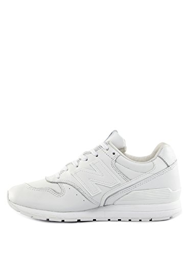 New Balance Womens Sneaker White Leather blanco