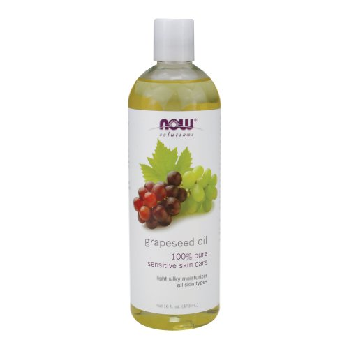 Now Foods Grapeseed Oil - 16 oz. 2 Pack