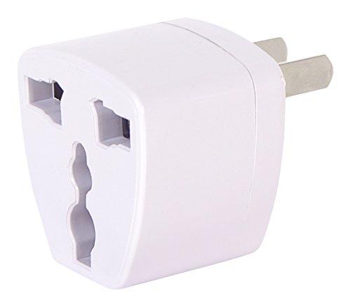 Pyle Power Travel Plug Adapter Converting from EU/UK/CN/AU to USA (PRTUKUSA1) Sound Around