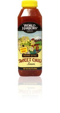 (World Harbors Asian Style Sweet Chili Sauce, 16 Fluid Ounce - 6 per case.)