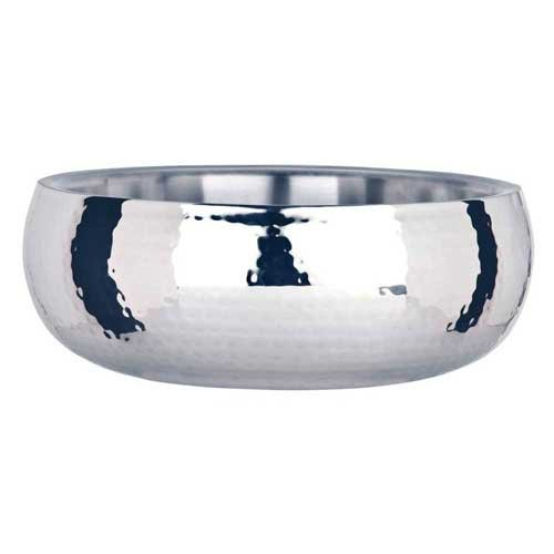 World Tableware Sonoran Double Wall Hammered Bowl, 150 Ounce -- 1 each. by World Tableware