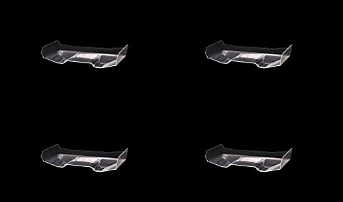 (Carisma 15690 GT24TR Clear Truggy Rear Wing Replacement Parts (Quantity 4))