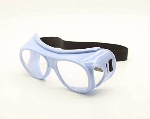 Nf Goggle (FixtureDisplays Lead Glasses Radiation Protective Eyewear for X-Ray MRI CT Radiation Protection - blue 15457)