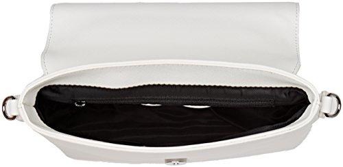 BRACCIALINI TUA Tua by Trendy, Borsa a Tracolla Donna, 24x13x9.5 cm (W x H x L) Bianco