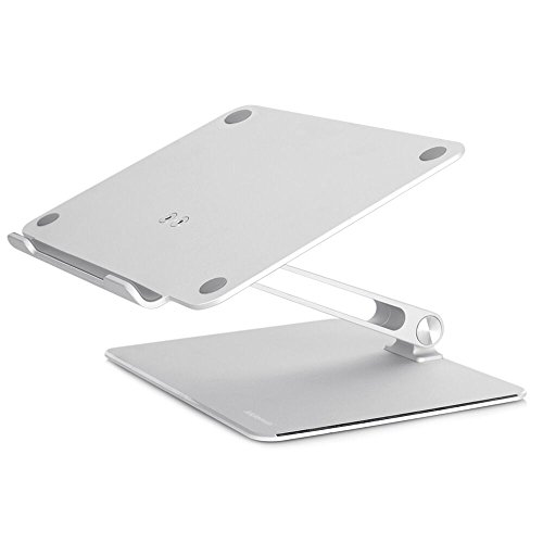 Notebook Stand, Foluu Latest Adjustable Portable Laptop Holder Multi-Angle Aluminum Metal Home Office Notebook Laptop Stand For Macbook Dell HP Notebook Tablet iPad Stands 7''-17'' Screen (Stand)