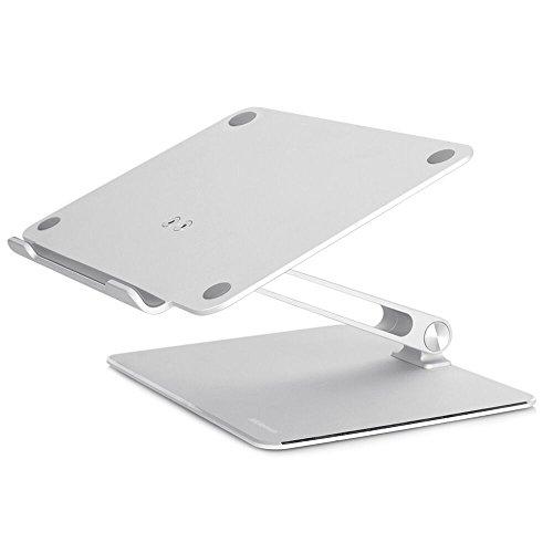 Notebook Stand, Foluu Latest Adjustable Portable Laptop Holder Multi-Angle Aluminum Metal Home Office Notebook Laptop Stand For Macbook Dell HP Notebook Tablet iPad Stands 7''-17'' Screen (Stand) (Angle Notebook)