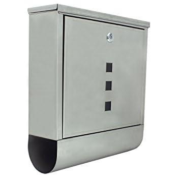 Aleko Usmb 03 Wall Mounted Mail Box With Retrieval Door 2