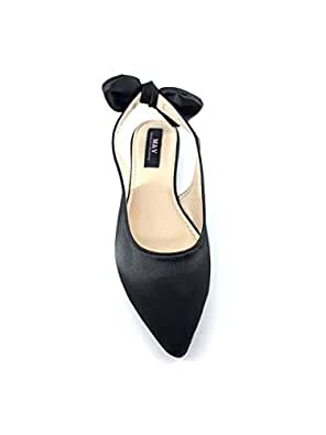 M&Y Woman mule slipper Black 146