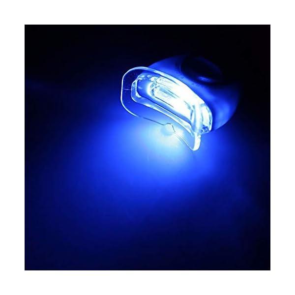 CZTY Luz LED para blanquear los Dientes Gel blanqueador para la Salud Cuidado bucal para el Tratamiento Dental Personal Herramientas para blanquear los Dientes 7