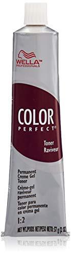 (Wella Color Perfect Permanent Creme Gel Toner T11a Lightest Ash Blonde for Women, 2 Ounce)
