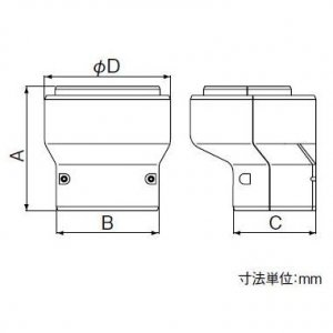 パナソニック 《スッキリダクト》 3Dフレキジョイント 80型 ブラウン DAS5803A