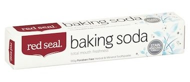 Red Seal Natural Baking Soda Toothpaste Stain Removing Formula