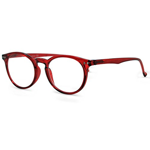 In Style Eyes Flexible Readers, Super Comfortable Lightweight Reading Glasses/Red - Computer In Glasses