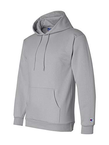- Champion Men's Front Pocket Pullover Hoodie Sweatshirt, X-Large, Light Steel