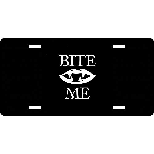 huizehonghong Personalized Front License Plate Aluminum Car Plate Decorative Car Tag Sign Metal Auto Tag with 4 Holes (12