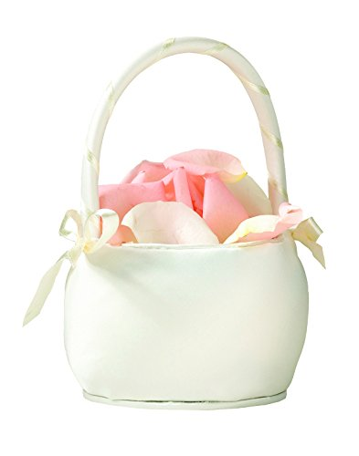 Flower Girl Basket Color: Ivory
