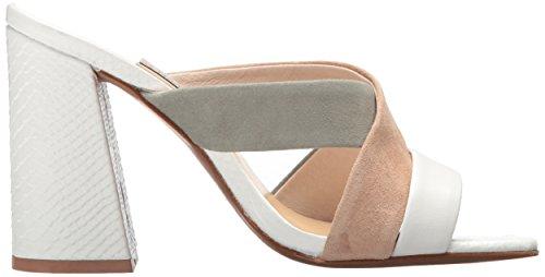 Laundry White Kristin Sage Women's Heeled Cavallari Lola Tiger Sandal Chinese 7qUndO7