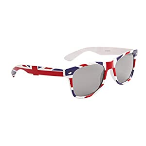 British Flag Classic 80s Wayfarer Style Sunglasses
