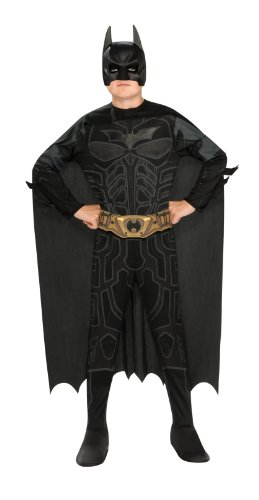 Batman Dark Knight Rises Tween Size Batman Costume - Tween (Small Mens Halloween Costumes)