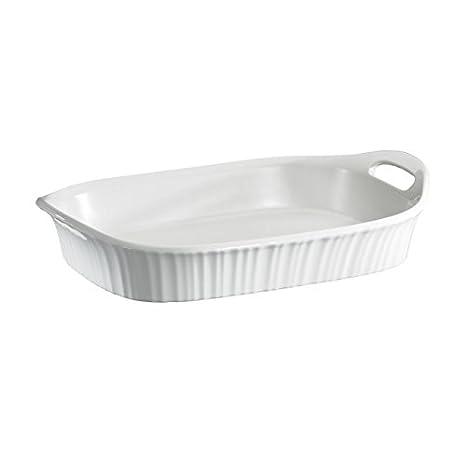 Corningware French White Oblong Casserole, 3-Quart World Kitchen (PA) 1105936