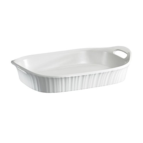 Corningware French White Oblong Casserole, 3-Quart