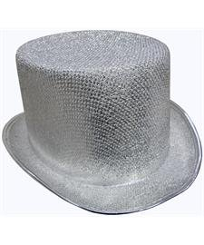 (Glitter Top Hat (GOLD) )
