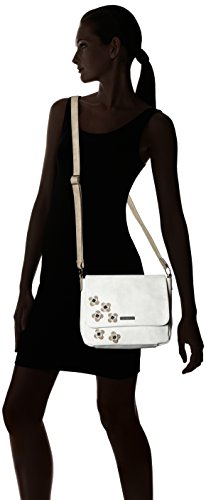 off White Shoulder Tamaris Comb Bags Women Crossbody Moon Bag M White wwTF8B