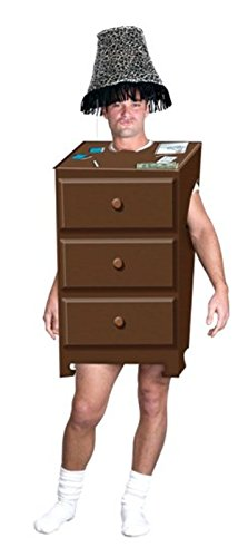 FunWorld Men's  Adult One Night Stand, Brown, One Size Costume