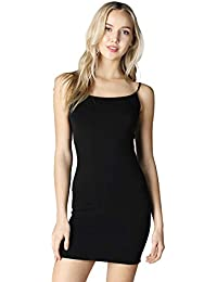 Women Seamless Classic Long Camisole, One Size