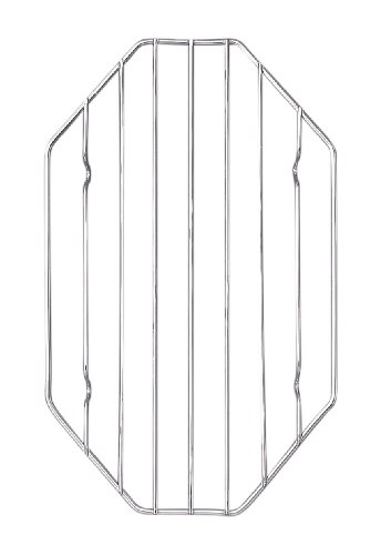 HIC Wire Roasting Baking Broiling Rack, 10-Inches x (Pork Roaster Ovens)