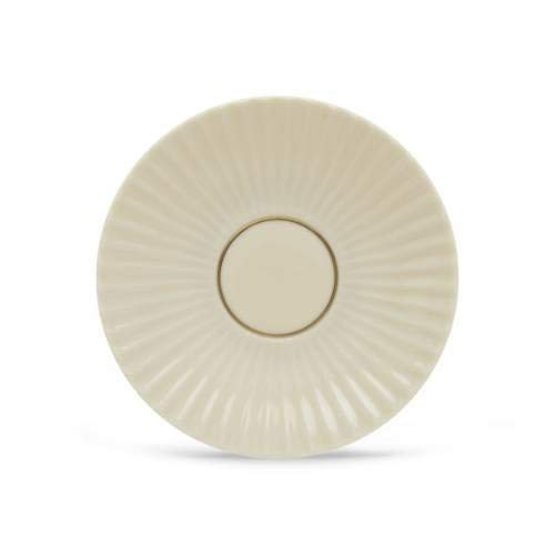 Lenox Rutledge Gold Banded Ivory China Saucer (Banded China Ivory Gold Saucer)