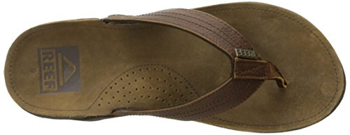 Reef J-Bay III, Sandalias Flip-Flop, Hombre, Marrón (Dusty Brown), 41.5 EU