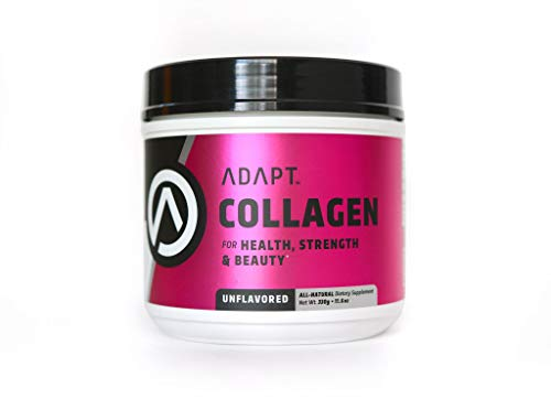 Adapt Collagen Protein Powder | for Skin, Hair, Bone Density, Joint Health | Grass-fed Organic Collagen Peptides | Keto and Paleo Approved | 30 Servings, 11 Grams Protein per Serving, Unflavored For Sale