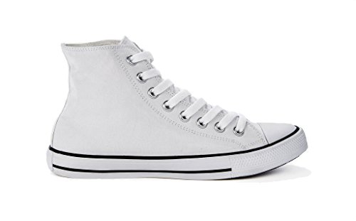 Sneaker Beige Hohe FOOTPRINTS Herren Canvas SG amp; Damen 1x8YqwP0